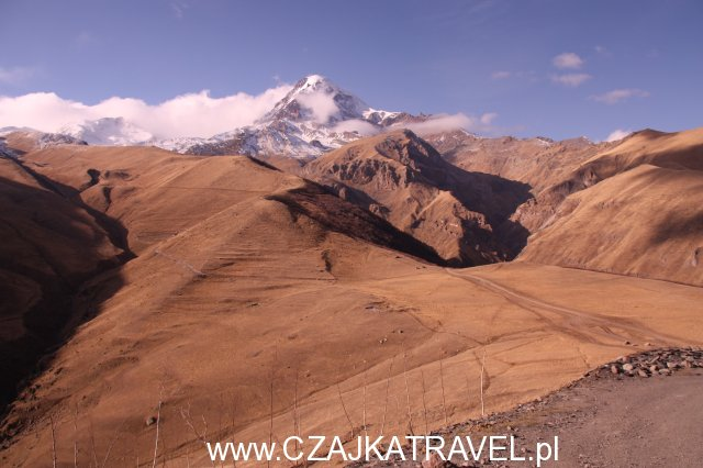 Gruzja, Góra Kazbek